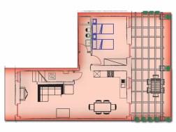 Vakantiehuis Lacrima | Benedenverdieping