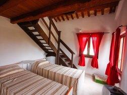 Appartement Liquirizia | Slaapkamer 2 met twee 1-persoonsbedden