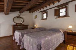 Vakantiehuis Noce | Slaapkamer met twee 1-persoonsbedden