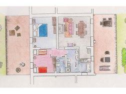 Appartement Menta   Plattegrond