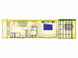 Vakantiehuis Vernaccia | Bovenverdieping