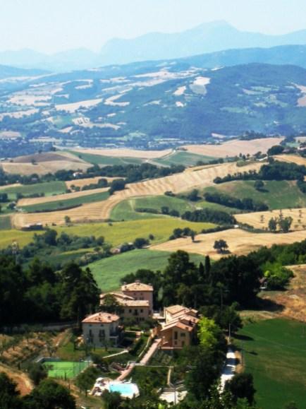 De borgo heeft een prachtige landelijke ligging