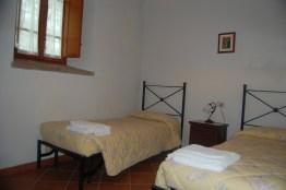 Appartement Raffaello   Slaapkamer 2 met twee 1-persoonsbedden