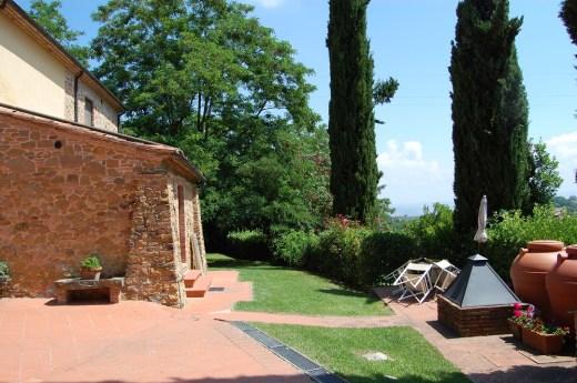 Appartement Giotto   Tuin & terras