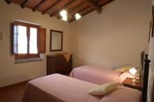 Appartement Botticelli   S;laapkamer met twee 1-persoonsbedden