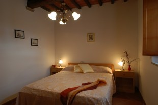 Appartement Giotto   Slaapkamer met 2-persoonsbed