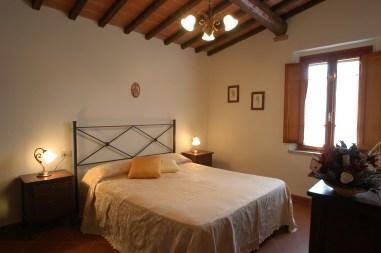 Appartement Botticelli | Slaapkamer met 2-persoonsbed