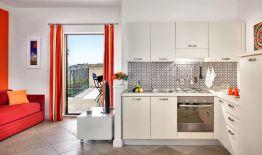 Appartement Figaro | Volledig uitgeruste open keuken