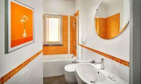 Appartement Figaro | Badkamer 2 met bad