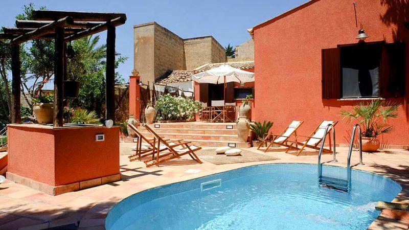 vakantiehuis prive-zwembad sicilie