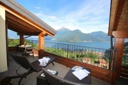 Heerlijk prive-terras met prachtig uitzicht