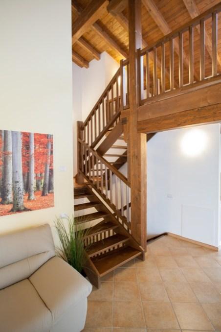 Trap naar de bovenverdieping