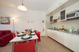 Appartement T13   Eethoek en keuken