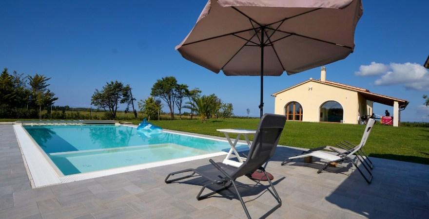 vakantiehuis prive-zwembad toscane