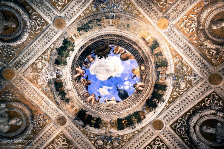 italiainpiega-pieghe meravigliose-itinerari moto pianura padana-i gonzaga-mantova-camera degli sposi-mantegna
