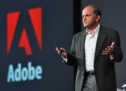 Shantanu Narayen 001 Shantanu Narayen: Il CEO di Adobe risponde alla lettera aperta di Steve Jobs