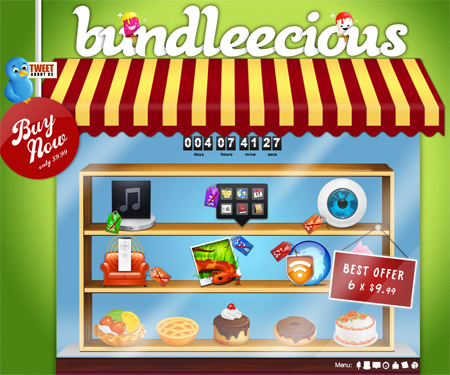 bundlelicious1 Bundleecious offre 6 applicazioni per Mac a 9,99$
