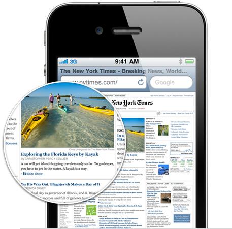 iPhone4 retinadisplay 001 Retina Display secondo gli ultimi accurati test, sembra lo schermo migliore che ci sia in commercio