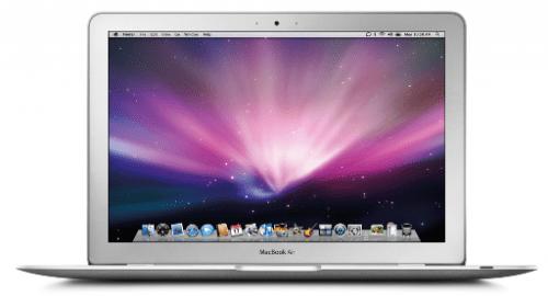 MacBookAir 001 500x270 Digitimes: Entro la fine dellanno potrebbero arrivare MacBook Air con schermo da 11,6 pollici