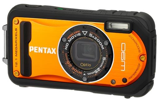 optio w90 pentax La PENTAX Optio W90 da oggi è anche shiny orange