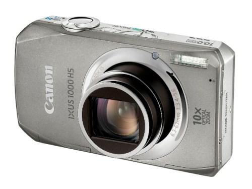 Canon IXUS 1000HS 001 500x375 Nuova Canon IXUS 1000 HS, con sensore CMOS da 10 megapixel e filmati Full HD 1080p