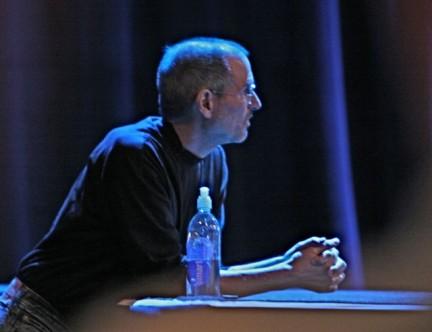SteveJobs 0002 Apple Event del 1 Settembre, in arrivo iPod Touch con fotocamera e iPod Nano con schermo touchscreen?