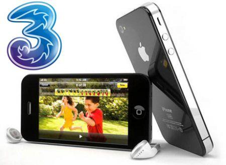 iPhone4 3italia 001 H3G Italia: LiPhone 4 a breve potrebbe essere disponibile anche con lofferta biennale Scegli Ancora 3 a partire a 199 Euro