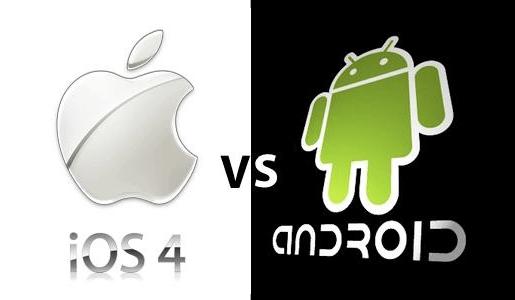 iosvxandroid Android cresce ma iPhone 4 è loggetto del desiderio.