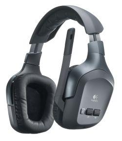 Logitech Headset Wireless F540 Logitech annuncia le Wireless Headset F540