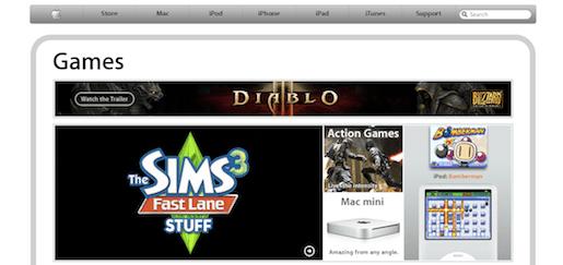 applegames Apple apre Games.
