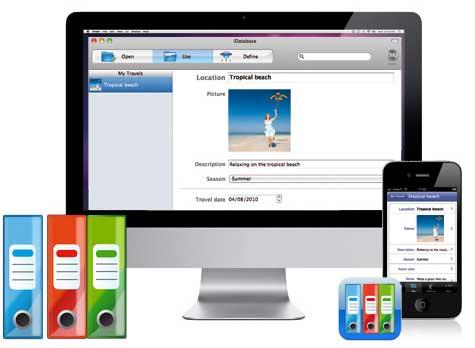 idatabase1 Apimac rilascia iDatabase, il nuovo database personale per Mac e iPhone