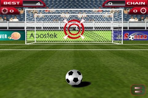 gosoccer3 Go Soccer, tiro al bersaglio con un pallone da calcio