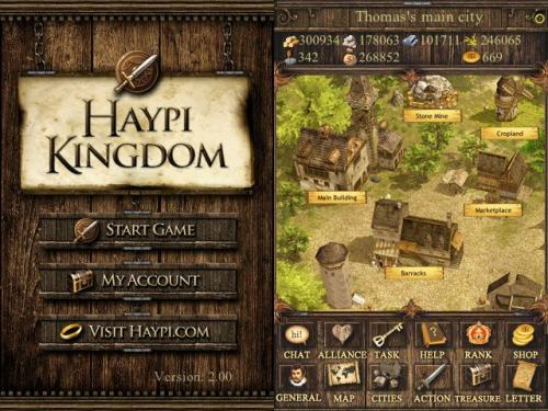 haypikingdom1 500x375 HaYpi Kingdom, un MMORPG per iPhone, ora anche per iPad.