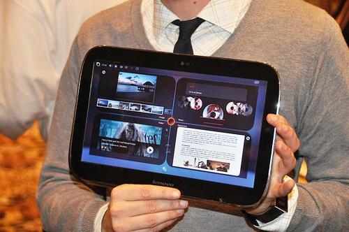 Lenovo LePad 001 Lenovo: LePad arriverà solo nel 2011, lazienda aspetterà la disponibilità di Android 3.0