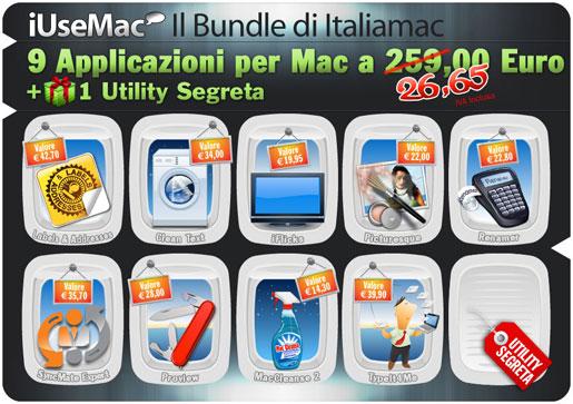 iusemaccreativityitim Ecco il bundle di Italiamac! 9 Applicazioni + 1 utility segreta ad un prezzo incredibile!