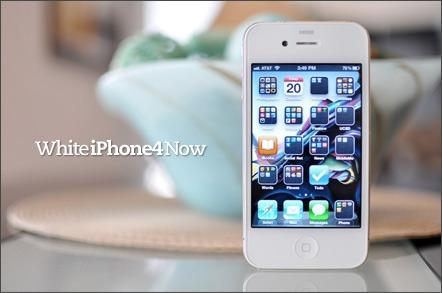 whiteiPhone4now 001 Avere un iPhone 4 White è possibile, su eBay si trova il Kit di montaggio a 279 Dollari