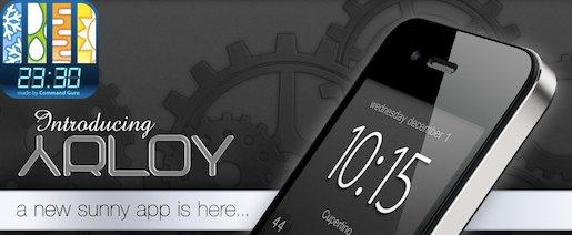 Arloyscreen Arloy, lessenziale a portata di dito.