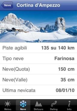 Dolomiti Superski 001 Cap presenta Dolomiti Superski per iPhone, da oggi si può comprare lo skipass online