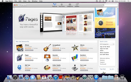 145718 macappstore Mac App Store e Mac OS X 10.6.6 saranno rilasciati domani alle 18:00