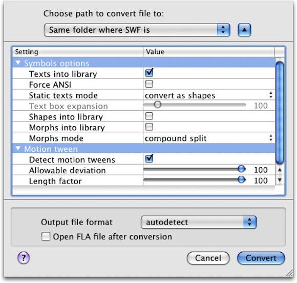 5 Flash Decompiler Trillix: recuperare i sorgenti FLA da documenti SWF in un batter docchio