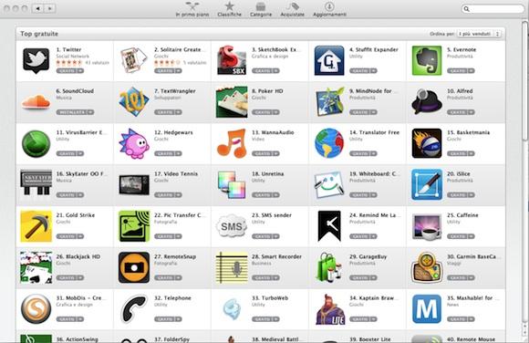 appstore2 Mac App Store: uno sguardo più da vicino