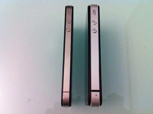 compare3 Prova di una copia delliPhone 4 made in China
