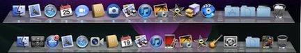 dock indicatori luminosi Prime immagini in anteprima di Mac OS X Lion