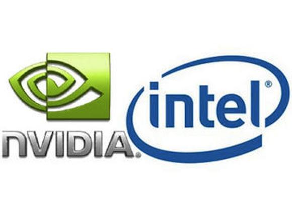 nvidiaintel Intel paga 1,5 miliardi di dollari a nVIDIA per utilizzare i suoi brevetti