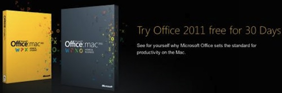 office triall Office 2011: disponibile la versione completa di prova di 30 giorni