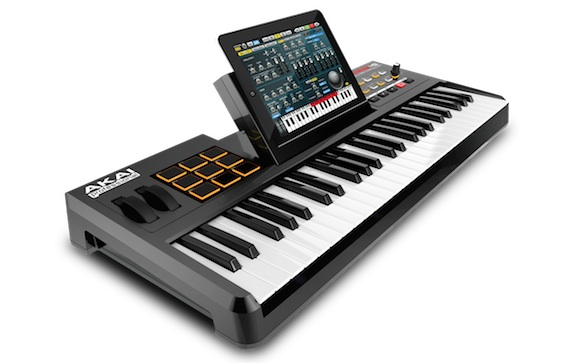 synthstation49 iPad: Akai annuncia la tastiera per musicisti Synthstation49