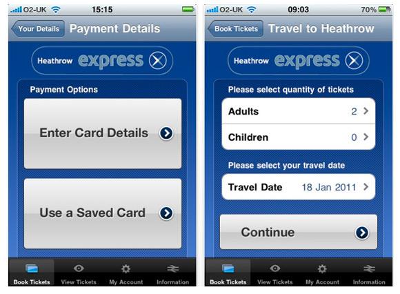 travel In Inghilterra liPhone diventa un biglietto del treno