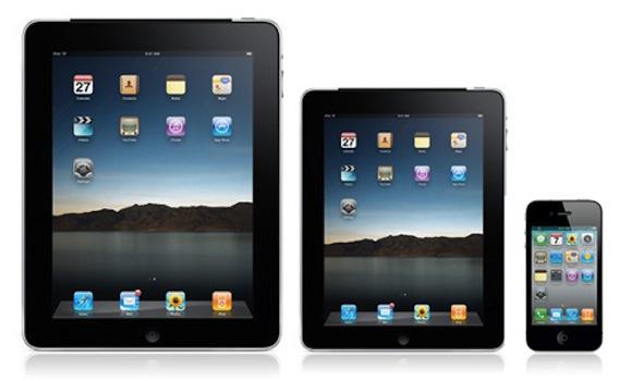 apple ipad rumors Rumors: il prossimo iPhone potrebbe avere un display da 4 e processore A5