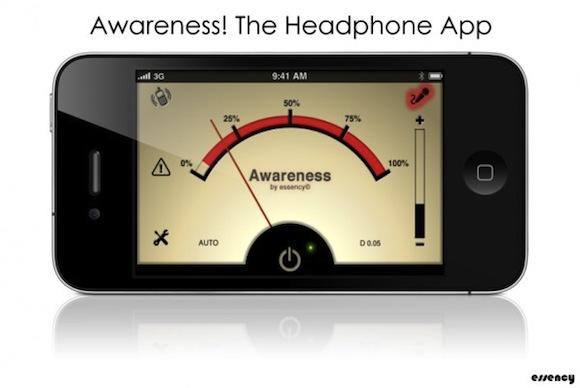 awareness1 Awareness! The Headphone App: per non isolarci dal mondo con le cuffie