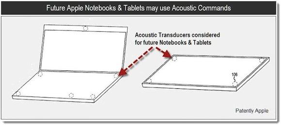 brev Scoperto nuovo brevetto Apple: interfacce multi touch grazie al suono